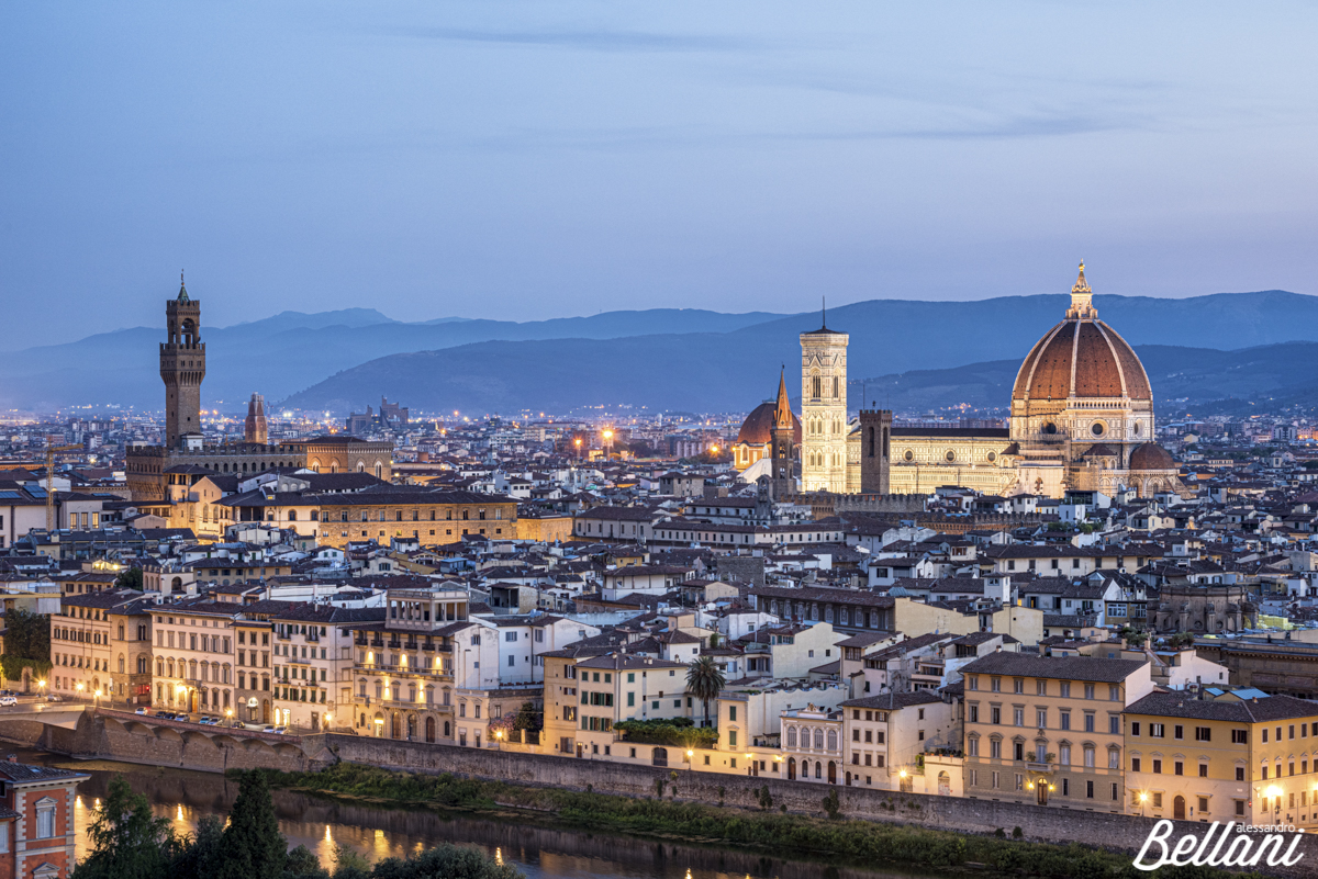 Cityscape of FLORENCE_