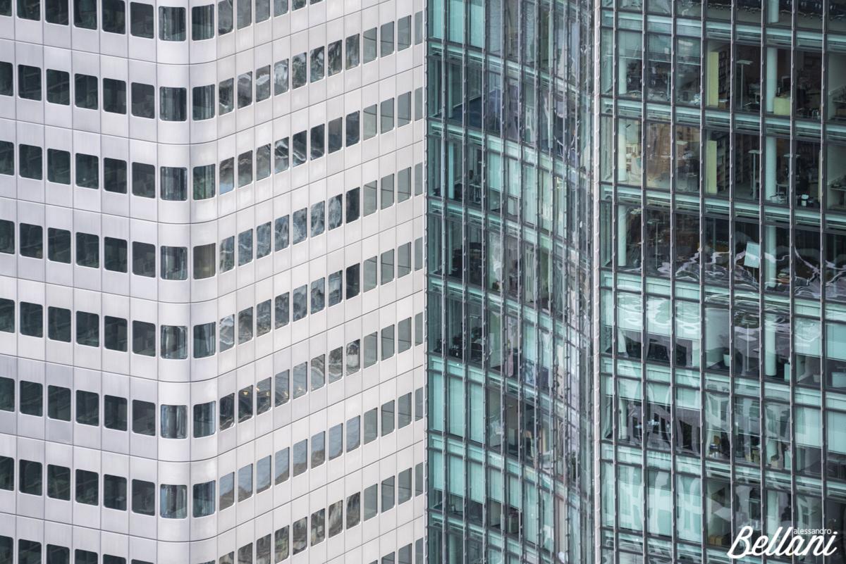 Details of skyscrapers FRANKFURT