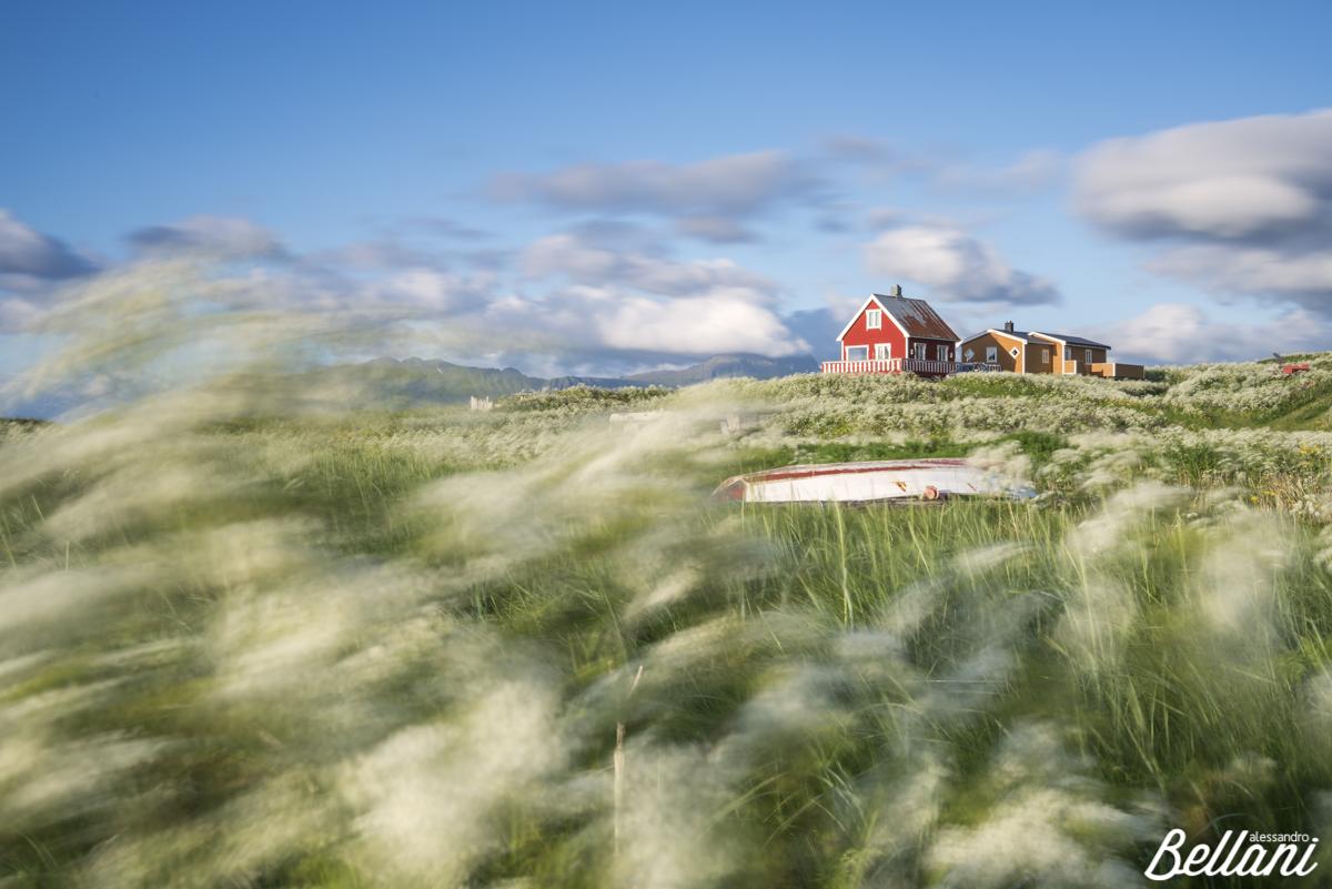 Eggum village LOFOTEN ISLANDS