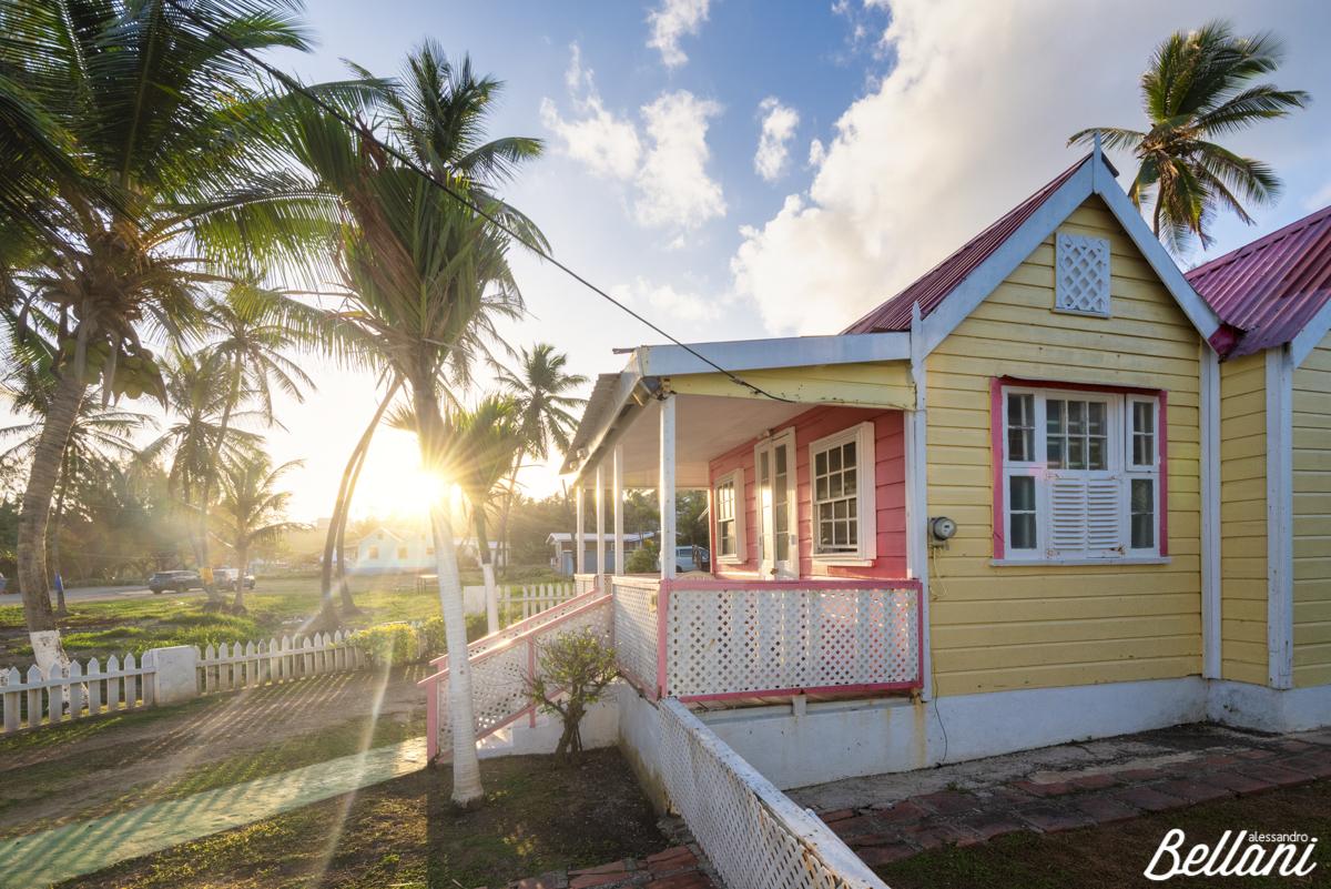 House in the village of Bathsheba BARBADOS ISLAND