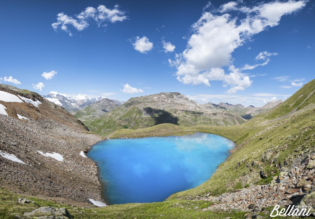Lake of Vago in Valtellina