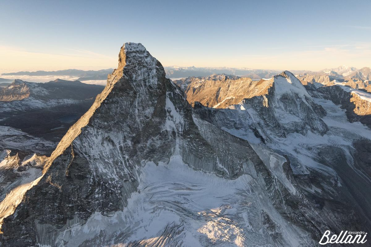 Matterhorn after sunrise SWITZERLAND