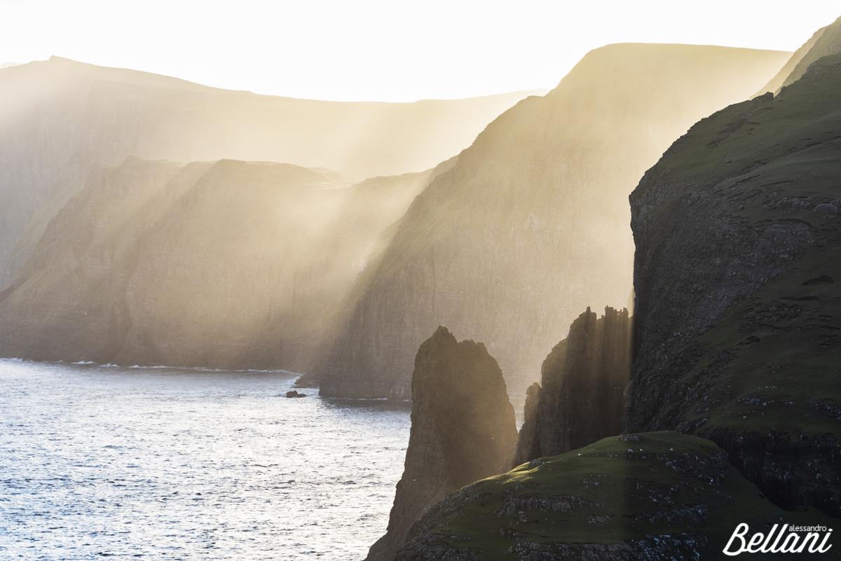 Rays of light FAROE ISLANDS