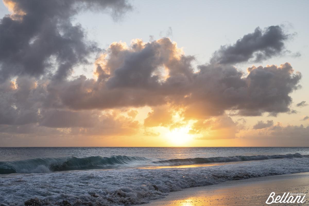 Sunset at Miami Beach BARBADOS ISLAND