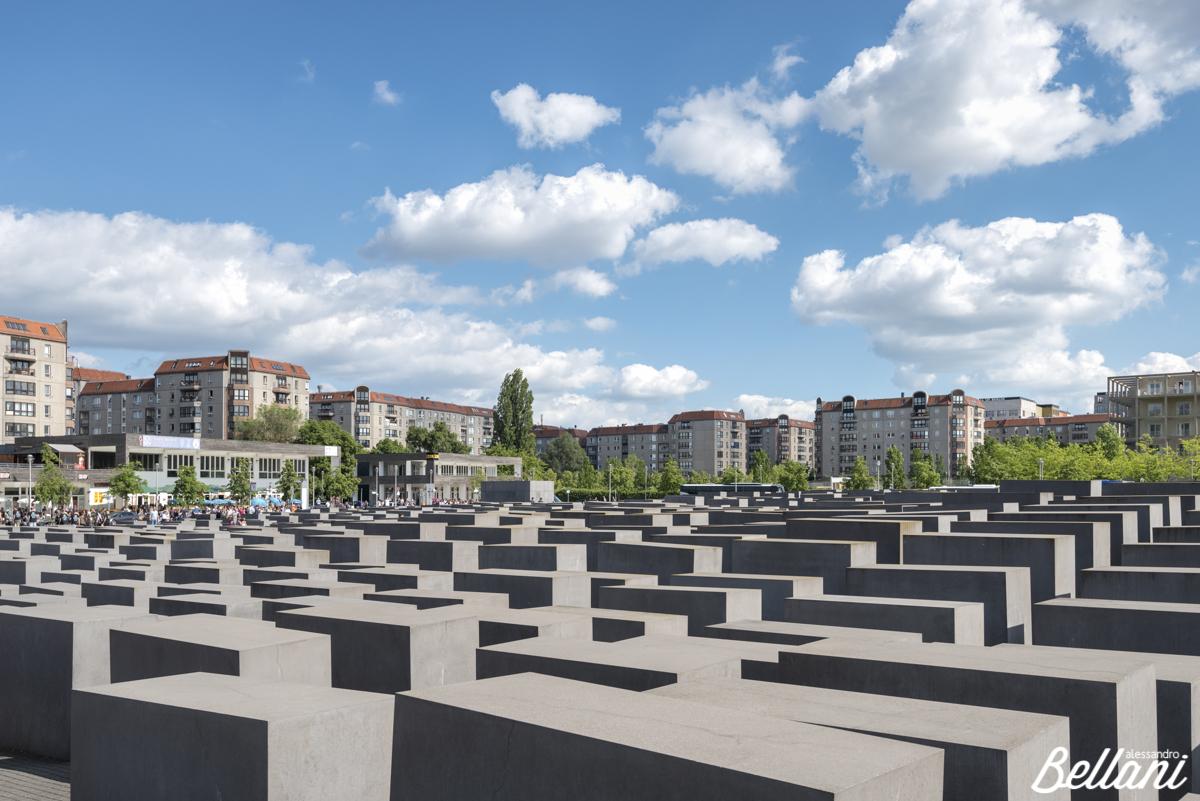 The Holocaust memorial monument BERLIN