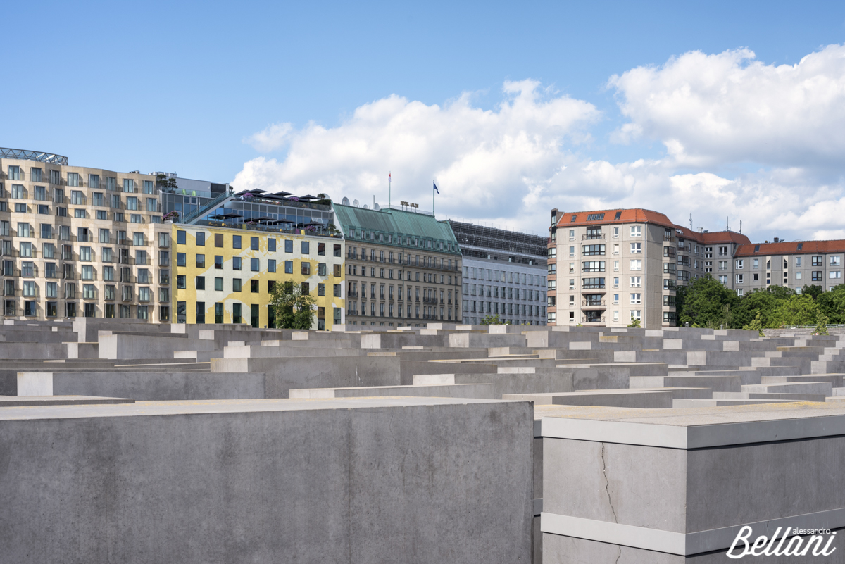 The Holocaust memorial monument in Mitte district BERLIN_