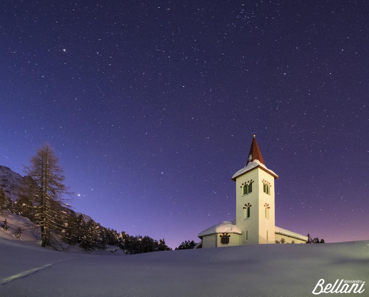 The White Church of Maloja