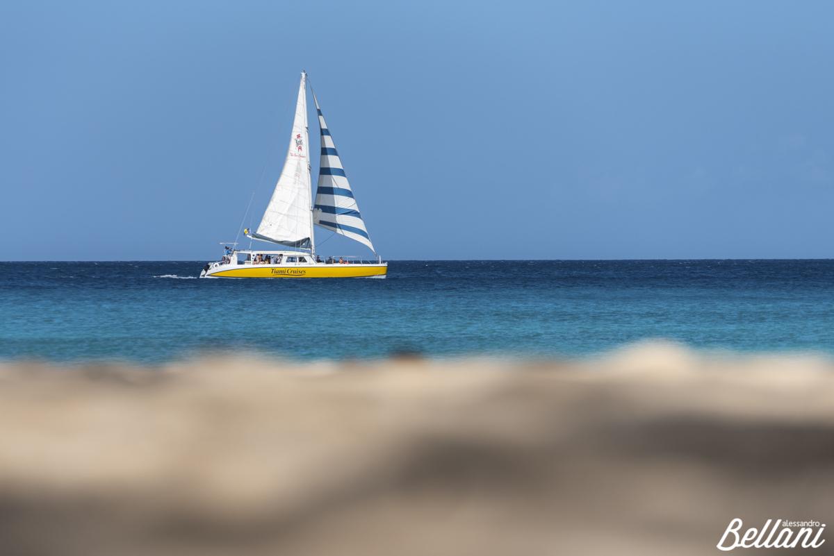 The sail boat BARBADOS ISLAND