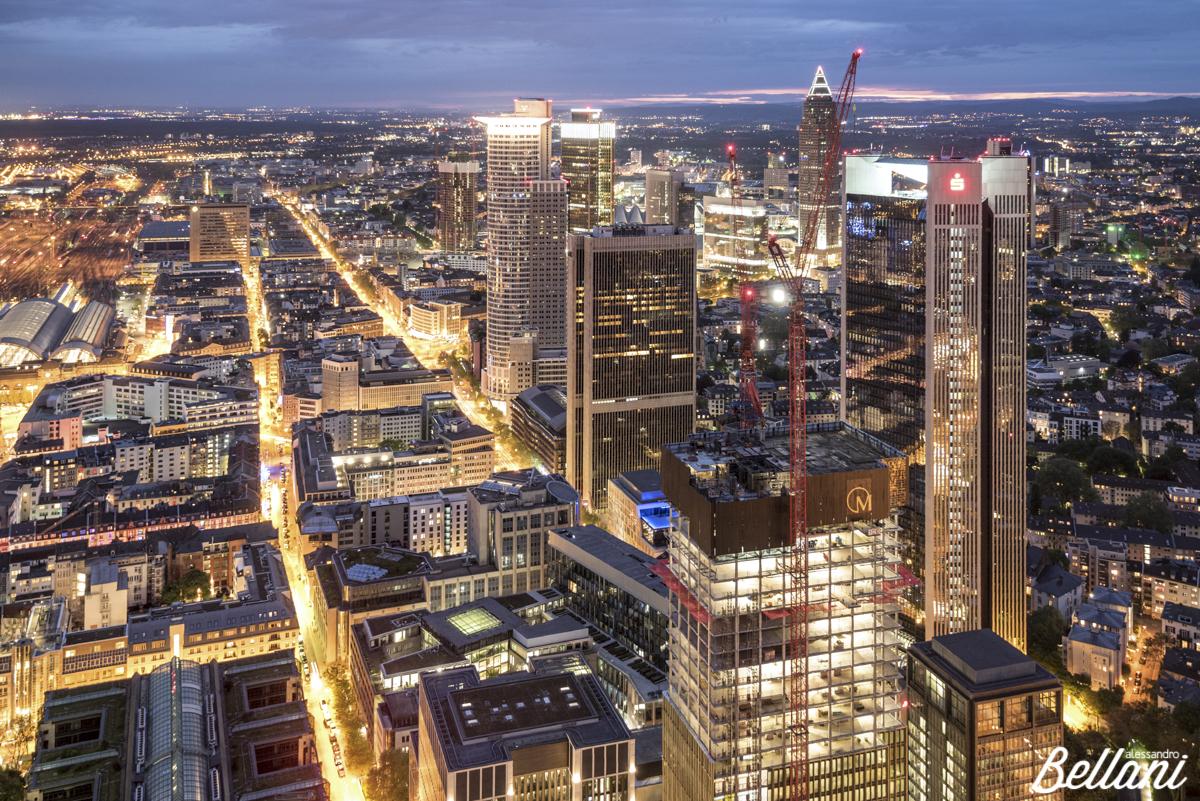 The skyscrapers of FRANKFURT