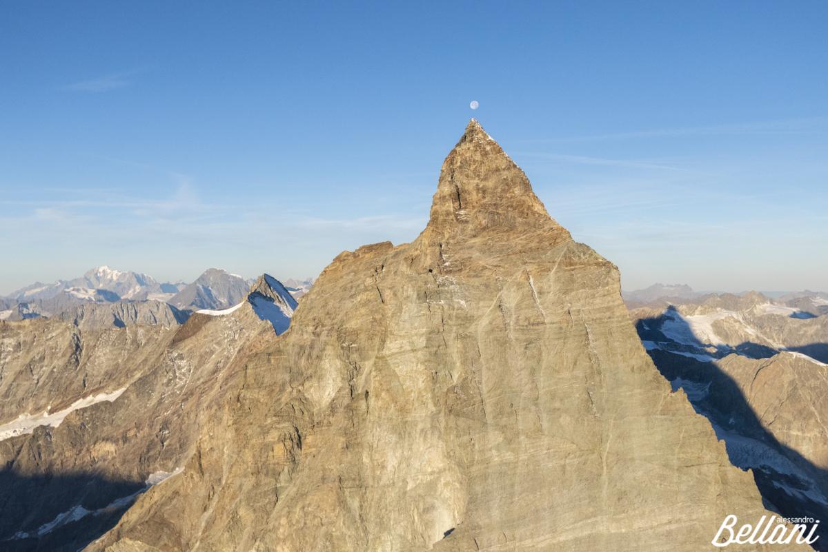 The summit of Matterhorn ITALY