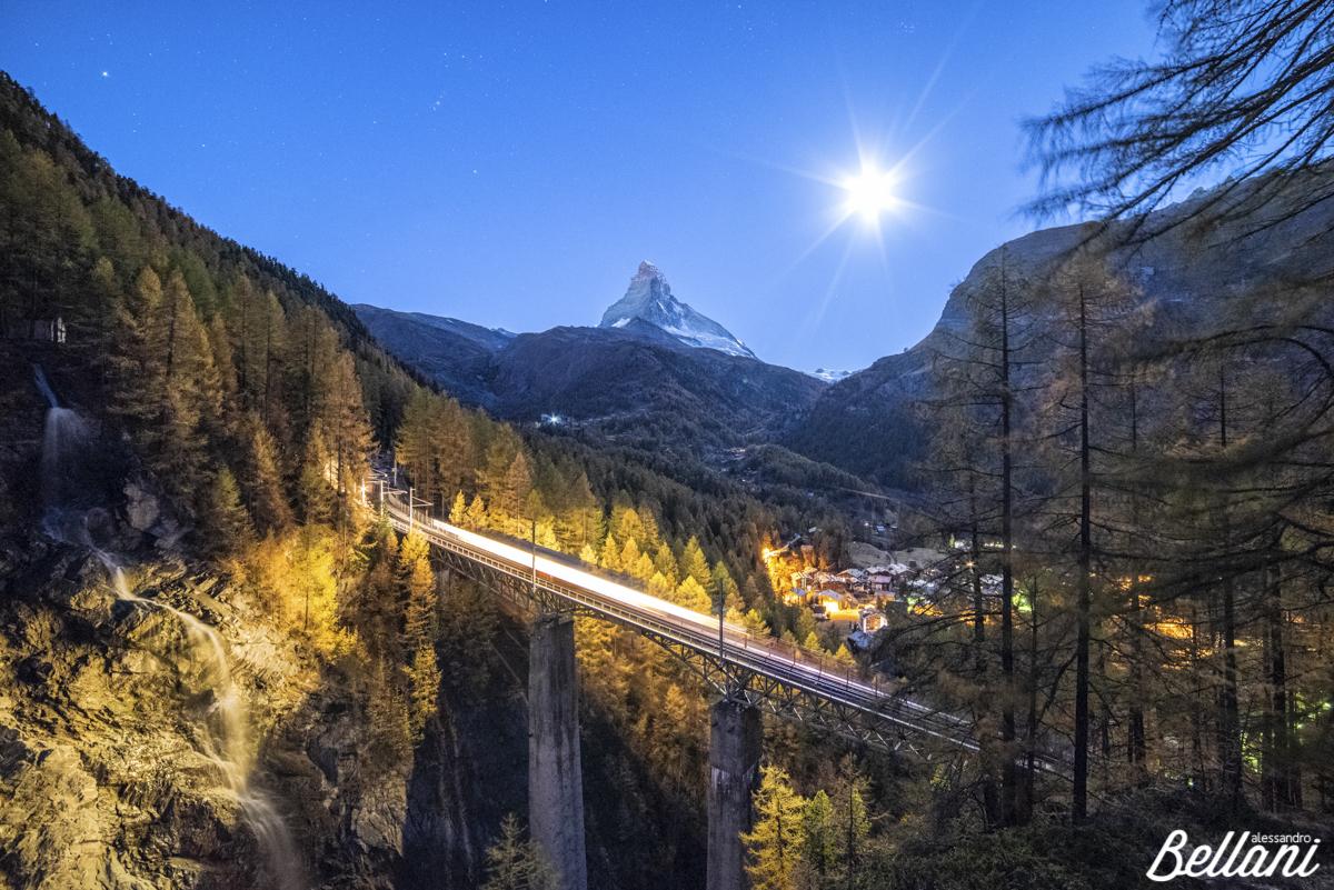 Zermatt night