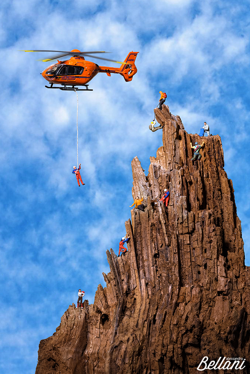 Rescue at hight altitude